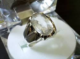 jewelry topaz rings images White topaz topaz ring topaz jewelry topaz engagement etsy jpg