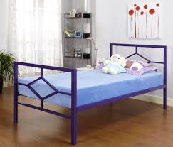 Cheap Twin Bed Frames With Mattress by Simple Metal Twin Bed Frame Painting Metal Twin Bed Frame