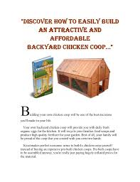 Can You Have Chickens In Your Backyard Can You Keep Chickens In Your Backyard As A Vocation