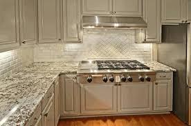 white kitchen cabinets with granite white brick backsplash in kitchen exposed white brick black and