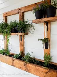 How To Build An Herb Garden Diy Vertical Herb Garden And Planter 2x4 Challenge