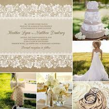 burlap and lace wedding invitations 9 jaw dropping lace and burlap wedding invitations for your