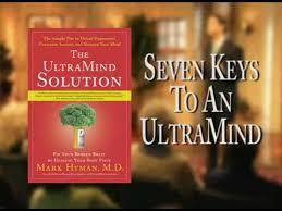 ultramind solution book fix your broken brain by healing the ultramind solution mark hyman book trailer youtube