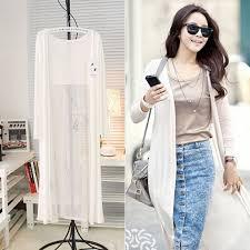 women u0027s summer casual long sleeve chiffon cardigan maxi dress tops