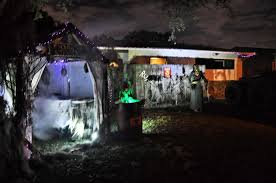decorating home for halloween best neighborhoods and streets for halloween decorations tampa 058
