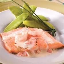 cuisine truite truite aux crevettes et tomates recettes cuisine et nutrition