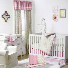 juliette white stylish ivory and gold crib bumper by the peanut