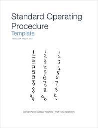 die besten 25 standard operating procedure template ideen auf