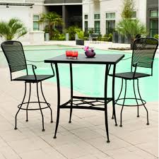 Bar Height Patio Furniture by Shop Darlee 5 Piece Charleston Cushioned Cast Aluminum Oakland