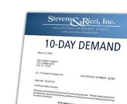 legal demand letter order free adl at stevens u0026 ricci