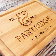 personalized wedding cutting board personalised chopping board s d engraving services