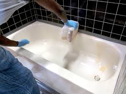 Best Way To Refinish Bathtub Stripping Refinished Bathtub Bathrenovationhq