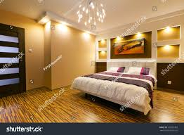 modern master bedroom interior picture shipwreck stock photo modern master bedroom interior with picture of shipwreck on the wall photo coming from my