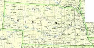 Detailed Map Of Colorado by Detailed Map Of Nebraska State Nebraska State Detailed Map