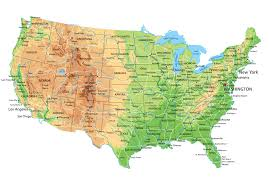 Map Of United State Of America by Map Of United States