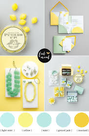 Color Palette Yellow by Mint And Yellow Wedding Colours Mint Green And Yellow Wedding Colors