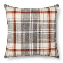 throw pillow plaid oversized threshold target