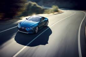 lexus sports car blue it took lexus 15 years to develop the new lc structural blue