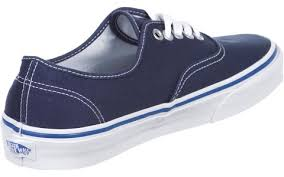 vans authentic shoes dress blue nautical