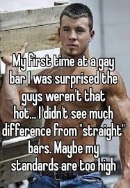 Gay Guy Meme - guys reveal their first gay bar experiences from incredible to