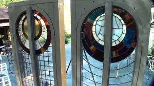 home windows glass design handmade windows tiny house stained glass youtube
