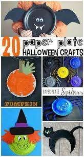 Halloween Arts And Crafts Ideas Pinterest - paper plate spiders spider halloween kids and craft
