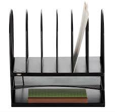 Amazon Organizer Amazon Com Safco Products 3253bl Onyx Mesh Desktop Organizer