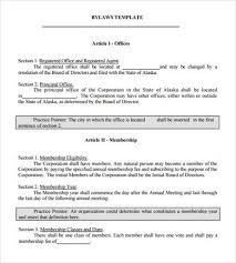 bylaws template incomplete corporate minutes 11 corporate