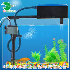 membuat kotak filter aquarium resun 3 in1 aquarium top filter kotak filter plastik tangki ikan