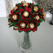 the edible posie bouquet of ferrero rocher chocolates