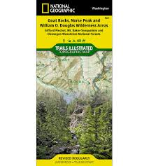 Wenatchee Washington Map by 825 Alpine Lakes Wilderness Mt Baker Snoqualmie And Okanogan