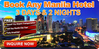 cheap hotels for 2 nights 3 day 2 manila hotel packages mount
