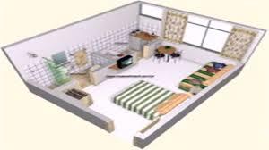 floor plan one room apartment youtube
