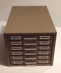 index card file cabinet vintage steelmaster 5 x 8 in index card file holder 6 drawer