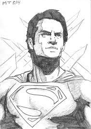 man of steel sketch 1