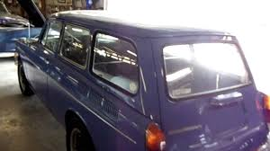 classic volkswagen station wagon 1970 volkswagen square back wagon vw youtube