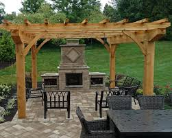 Outdoor Fire Place by Outdoor Fireplace Patio Landscape Company Allentown Pa