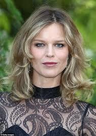 lightened front hair is vodka the secret to eva herzigova s hair supermodel 40 says