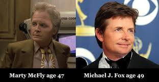 Michael J Fox Meme - today i met michael j fox and he seemed fascinated by my futuristic
