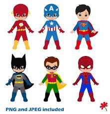 spiderman clipart superhero kid pencil color spiderman