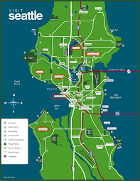 Seattle District Map by Springtime In Seattle Follow The Flammias