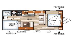 Camp Floor Plans Salem Cruise Lite Rv Sales Michigan Salem Cruise Lite Dealer