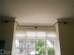Measuring Bay Windows For Curtains 8 Best Curtains Images On Pinterest Bay Window Curtain Poles
