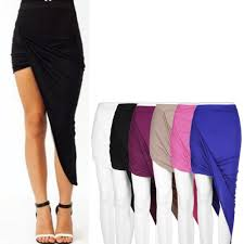 skirt asymmetric high low reviews online shopping skirt