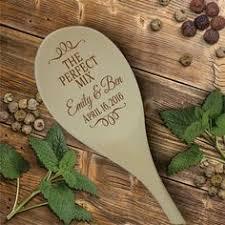 wedding gift engraving ideas bamboo kitchen utensil set custom kitchen decor wedding gift
