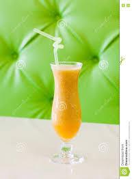 apricot smoothie fresh fruit drink orange color beige table