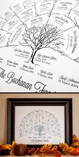 Lds Home Decor by The Perfect Christmas Gift Custom Framed Family Tree Art My