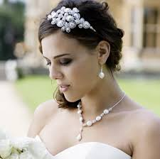 jewelled headdress deco deluxe headdress pearl and swarovski vintage wedding