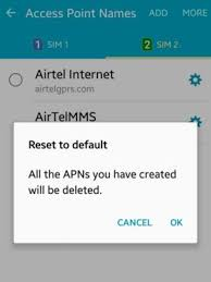reset android to default how to set access point names in android lollipop smatphones