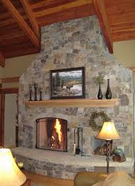 fireplace inspiring rumford fireplace with natural stone mantel rustic home decoration with buckley rumford fireplace surrounded with stone wall plus floating shelves